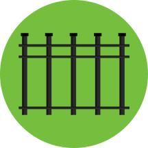 Types of Fences Images